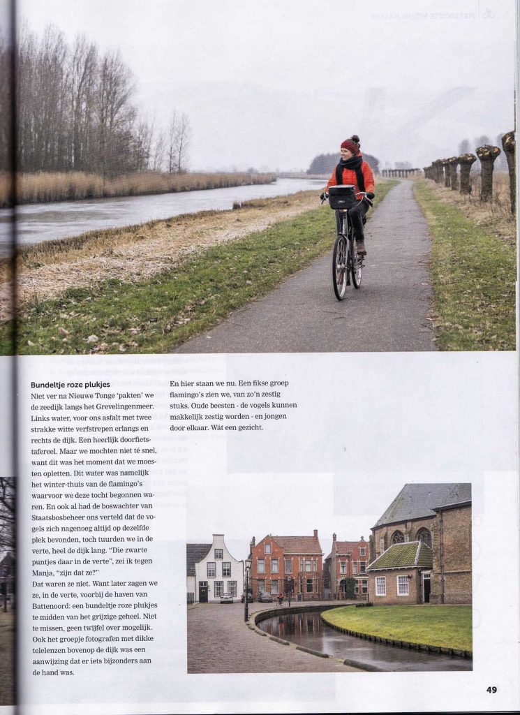 Fotografie fietsroute Zuid-Holland