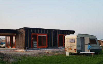 kavel Oosterwold dak erop