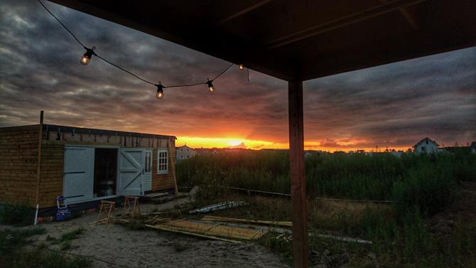 Oosterwold houtskelet zelfbouw huis By Manja outdoor buiten